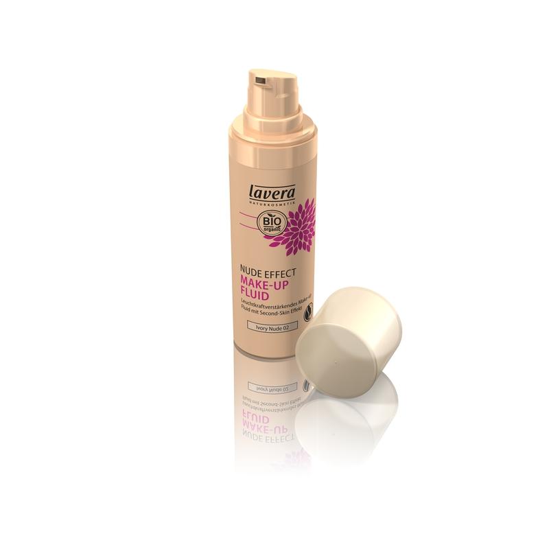 lavera IG Tekutý make-up - 02 nude effect 30ml