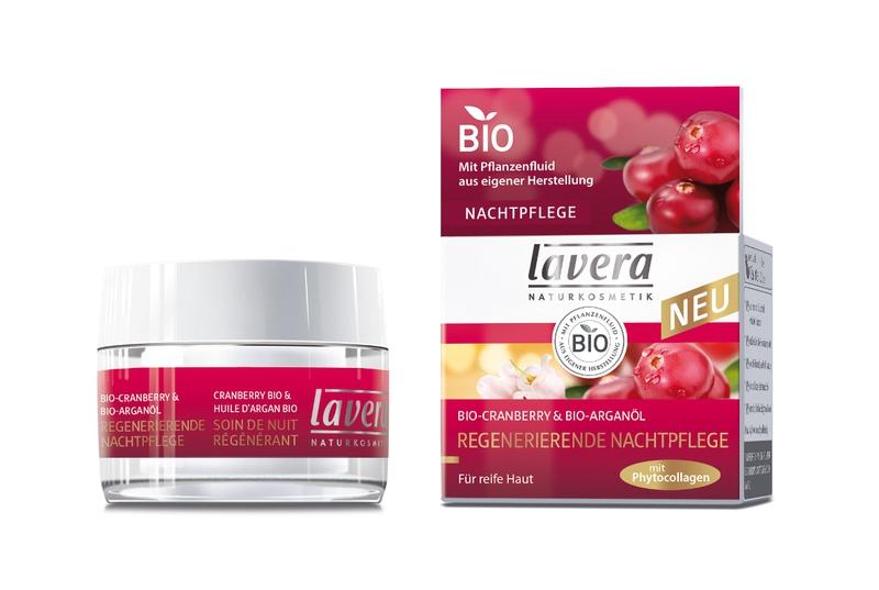 lavera Regenerující noční krém Bio Brusinka 50 ml