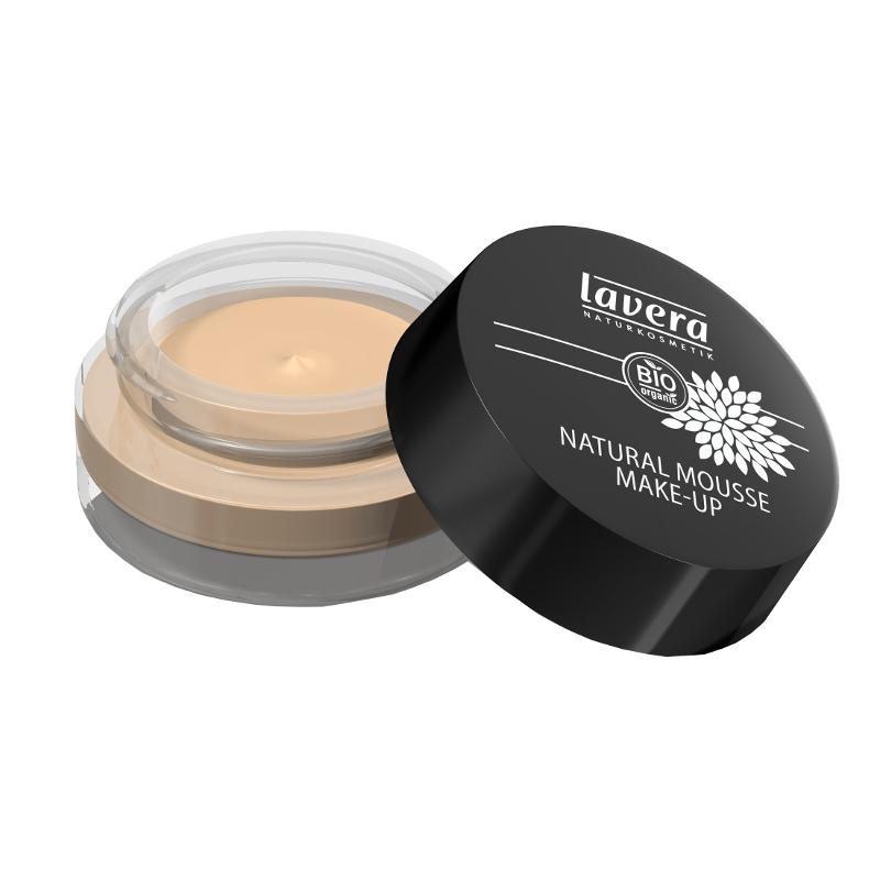 lavera Přírodní pěnový make-up - 01 slonová kost 15 g