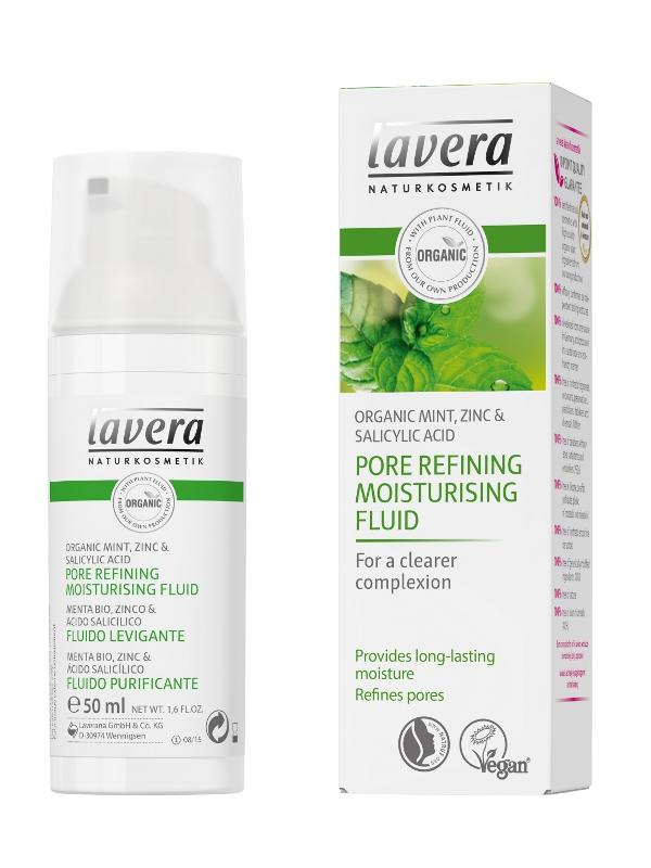 lavera Póry zjemňující hydratační fluid 50ml
