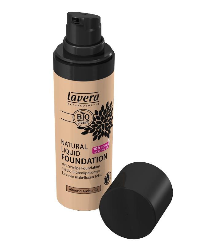 lavera Přírodní tekutý make-up 05 - mandle - ambra 30 ml