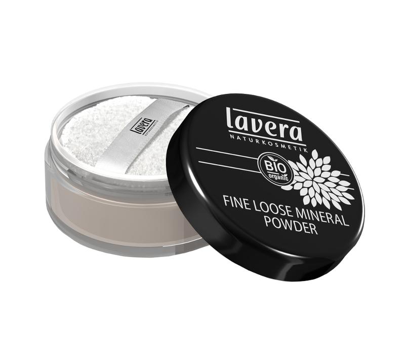 lavera Jemný sypký minerální pudr - transparentní 8 g