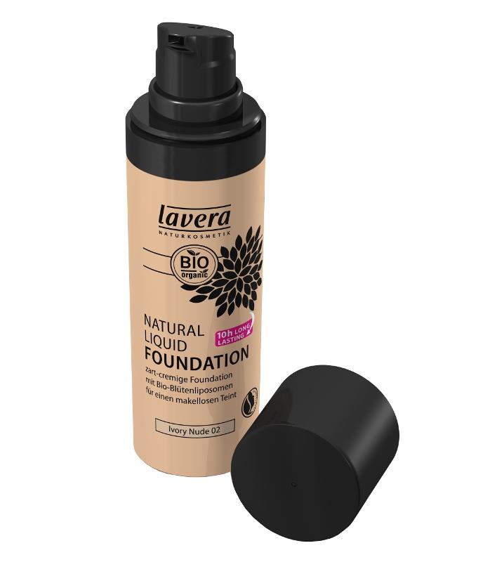 lavera Přírodní tekutý make-up 02 - slonová kost - tělová 30 ml