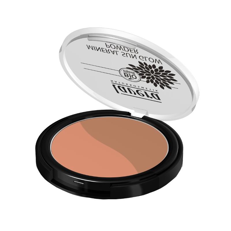 lavera Třpytivý minerální bronzující pudr DUO - 02 sluneční polibek 9 g
