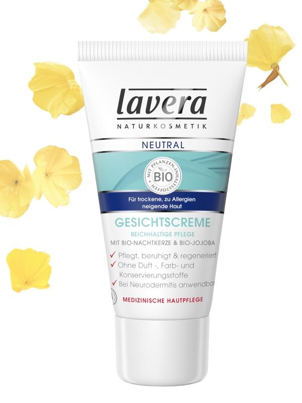 lavera NEUTRAL Přírodní pleťový krém 30 ml