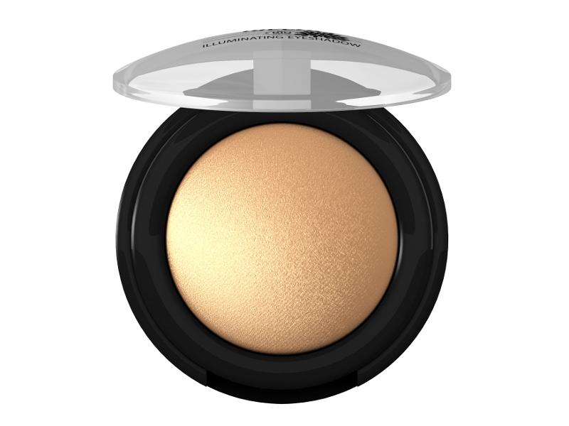 lavera Třpytivé minerální oční stíny MONO 05 - zářivá zlatá 1,5 g