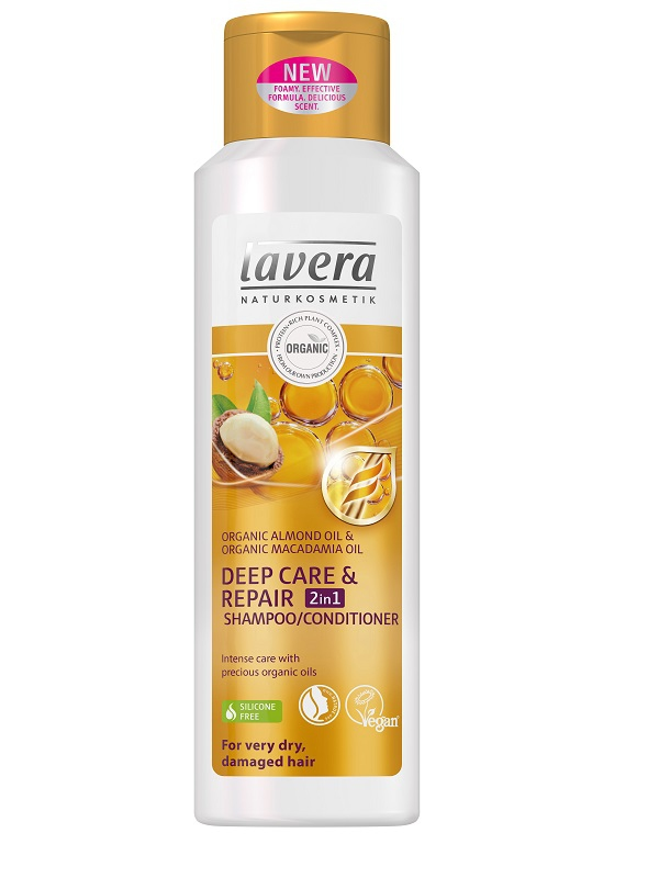 lavera Šampon a kondicionér 2v1 Deep Care& Repair 250ml