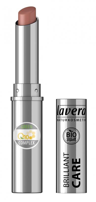 lavera Pečující rtěnka Q10 - 08 světle oříšková 1,7 g