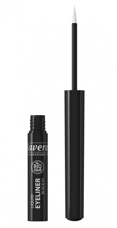 lavera Tekuté oční linky - 01 černá 2,8 ml