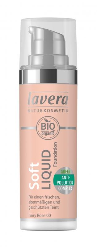 lavera Lehký tekutý make-up - 00 slonová kost 30 ml