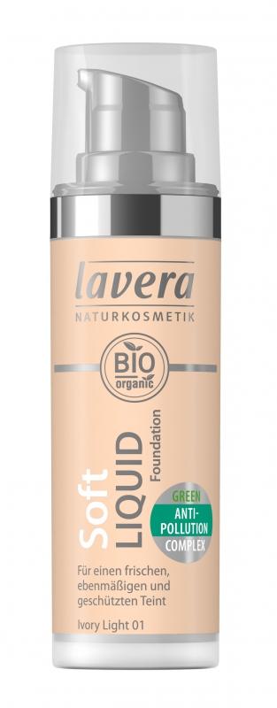 lavera Lehký tekutý make-up - 01 porcelánová 30 ml
