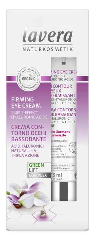 lavera Zpevňující oční krém 15 ml
