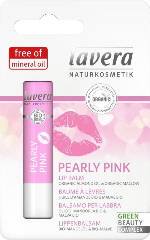 lavera Balzám na rty PEARLY PINK 4.5 g