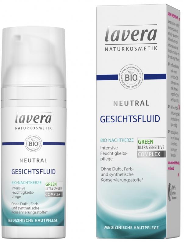 lavera NEUTRAL Přírodní hydratační fluid 50 ml