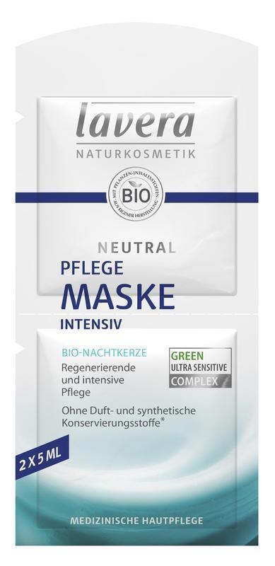 lavera NEUTRAL Přírodní pleťová maska 2x5 ml