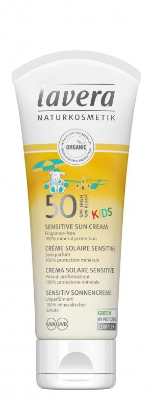 lavera Opalovací krém SPF 50 pro děti 75 ml