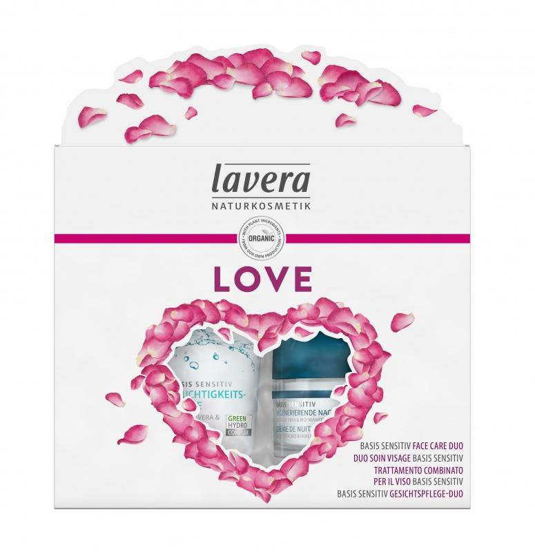 lavera Dárkový set plný lásky Basis sensitiv