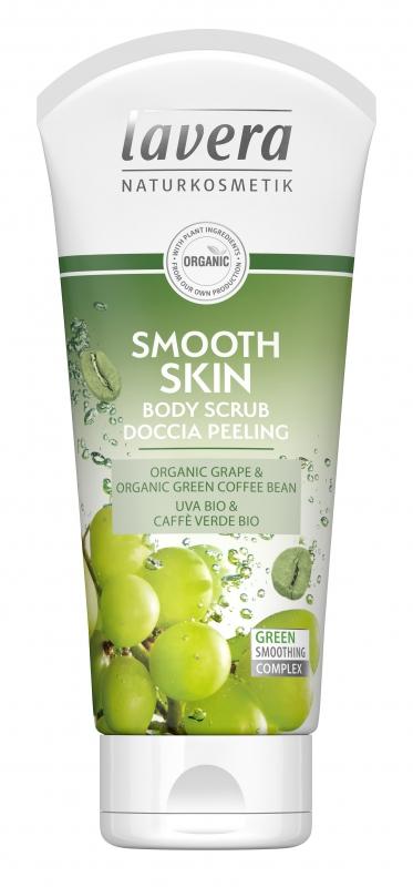 lavera Tělový peeling Smooth Skin 200 ml