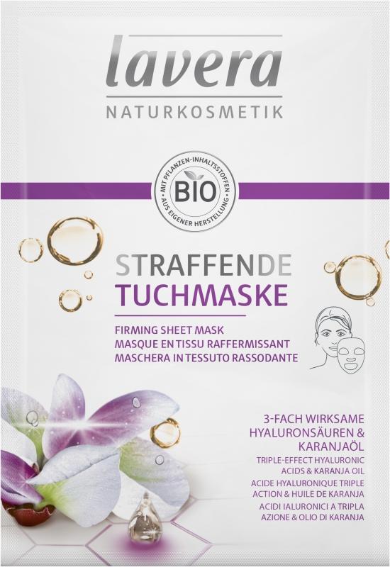 lavera Zpevňující textilní maska 21 ml
