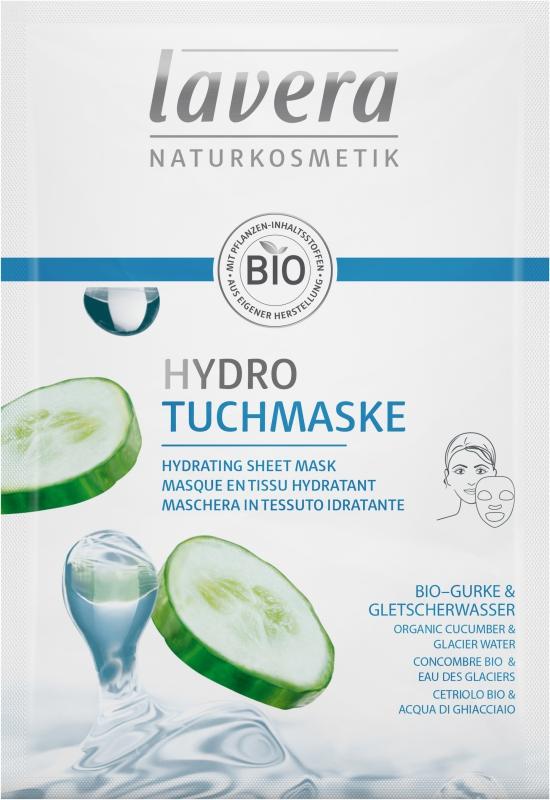 lavera Hydratační textilní maska 21 ml