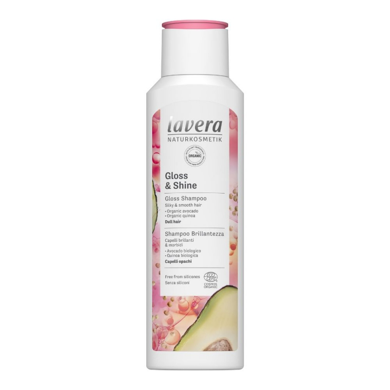 lavera Šampon Gloss & Shine 250 ml
