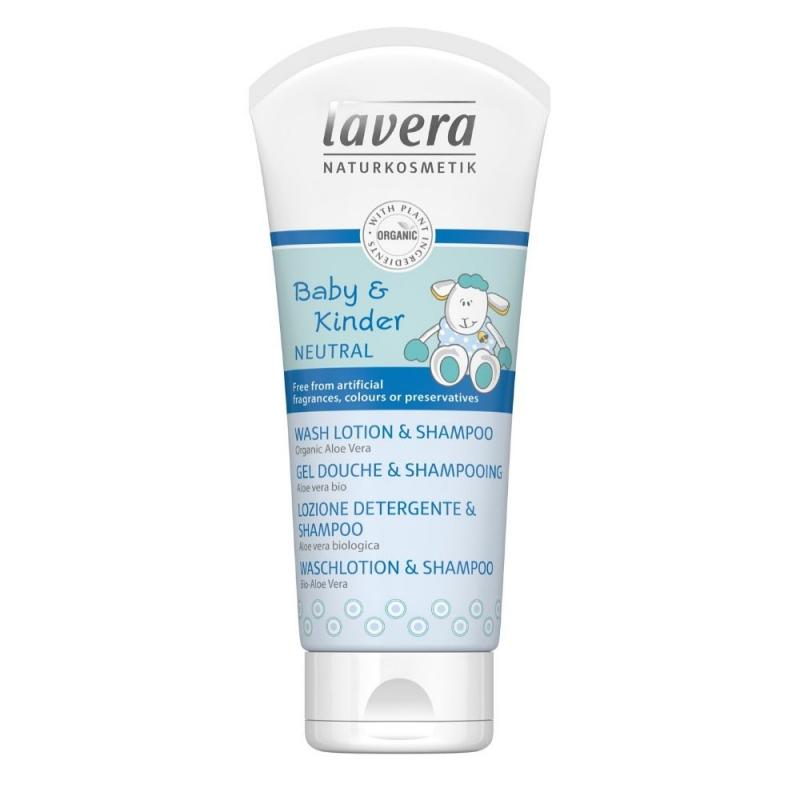 lavera Dětský vlasový a tělový šampon 200 ml