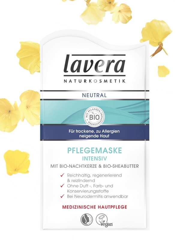 lavera NEUTRAL Přírodní pleťová maska 10 ml