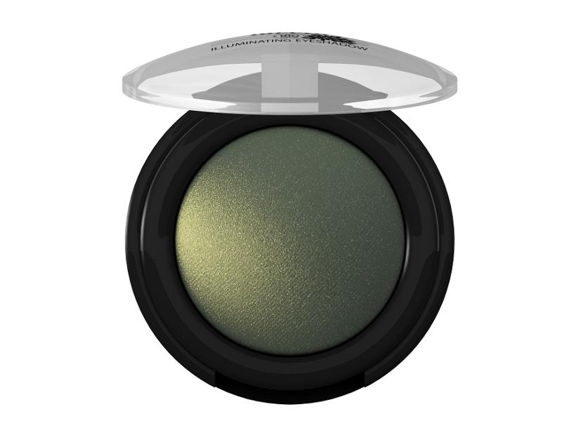 lavera Třpytivé minerální oční stíny MONO 07 - zelená  1,5 g