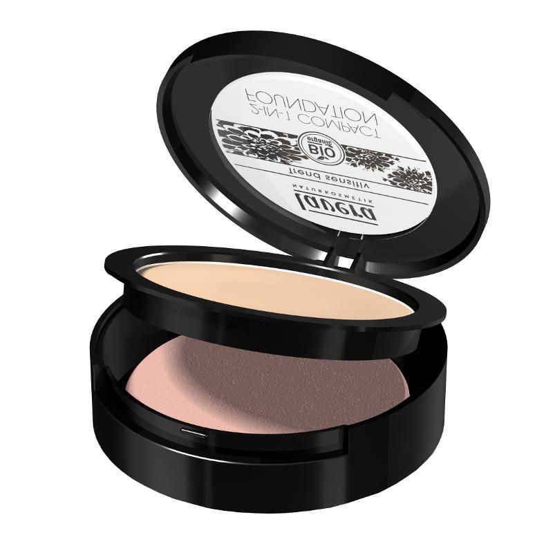 lavera Pudrový make-up 2 v 1 - 01 slonová kost 10 g