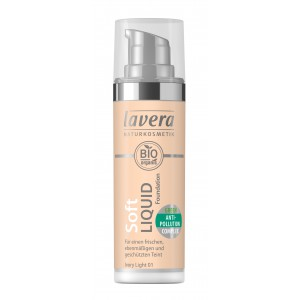 lavera Lehký tekutý make-up - 01 porcelánová 30 ml
