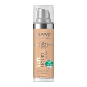lavera Lehký tekutý make-up - 03 medová 30 ml